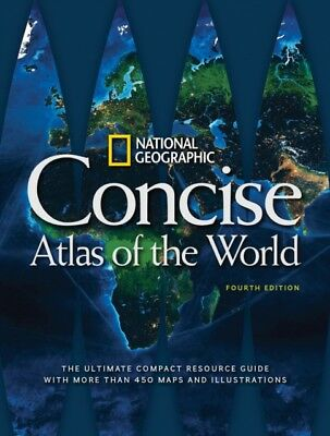 National Geographic Concise Atlas of the World, 4th Edition (Pape...