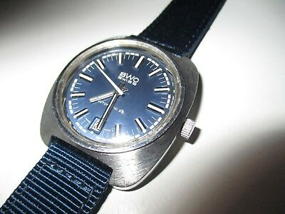 BWC SWISS Automatic 25 Date 38 mm 70er Jahre