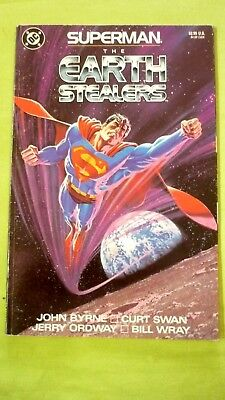 DC: SUPERMAN  -  The  Earth  Stealers