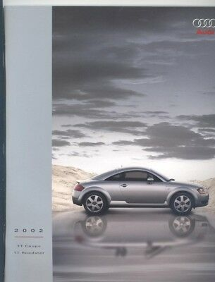 2002 Audi US TT Coupe & Roadster Prestige Brochure my9224