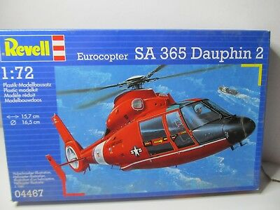 150MB - Revell 04467 - 1:72 - Bausatz Eurocopter SA 365 Dauphin 2 - top in OVP