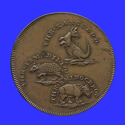 Middlesex Hall's halfpenny token 1795   D&H 314