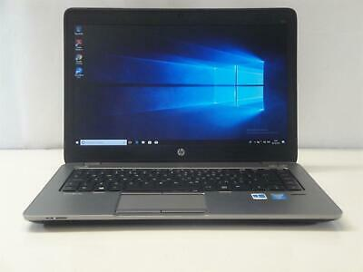 HP Elitebook 840 G1 Laptop Core i5 4300u 16Gb RAM 256Gb SSD Webcam
