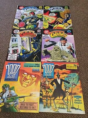 2000ad judge dredd monthly joblot 1987