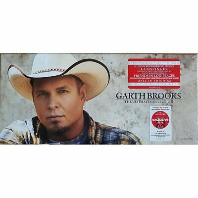 Garth Brooks The Ultimate Collection 10 Disk Set 2016....BRAND NEW....!!!