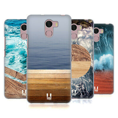 Head Case Designs Sea And Wood Prints Soft Gel Case For Wileyfox Phones
