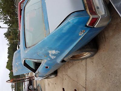 1969 AMC AMX Silver 1969 AMC AMX (Project Car)