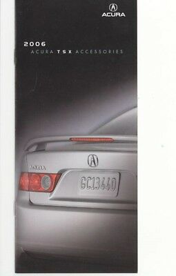 2006 Acura US TSX Accessories Brochure my9313