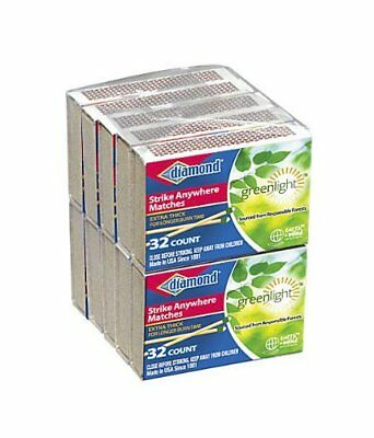 80 Packs 32 Count Each Box Total 2560 Count Diamond Strike Anywhere Matches