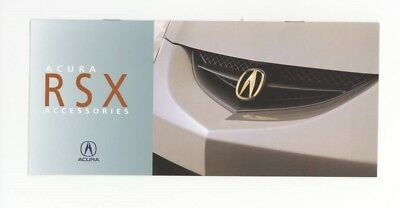 2003 Acura US RSX Accessories Brochure my9309