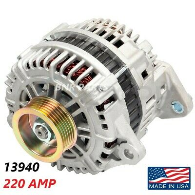 220 AMP 13940 Alternator fits Nissan Altima High Output Performance HD USA NEW