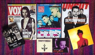 Depeche Mode - Collection of CDs, Magazines, DVD & Record. 1990-2003.