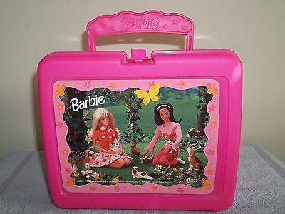Barbie plastic lunch pail no thermos