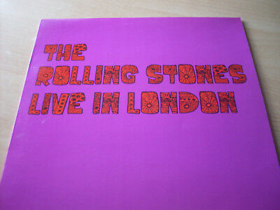 The Rolling Stones Live In London (  Vinyl LP L!m!ted