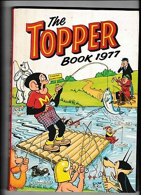 The Topper Book/annual 1977 Vgc Not Price Clipped
