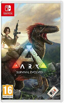 ARK Survival Evolved Explorer's Edition Nintendo Switch Game 16+ Years