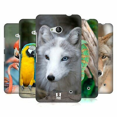 Head Case Designs Famous Animals Hard Back Case For Microsoft Phones
