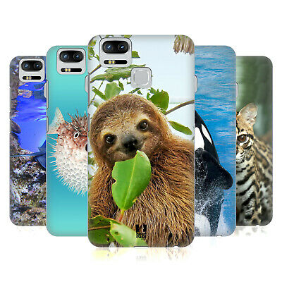 Head Case Designs Famous Animals Hard Back Case For Asus Zenfone Phones