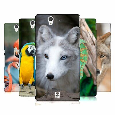 Head Case Designs Famous Animals Hard Back Case For Sony Phones 3