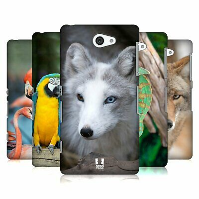 Head Case Designs Famous Animals Hard Back Case For Sony Phones 4