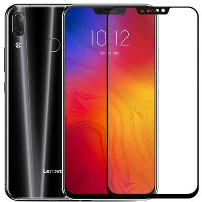 2 x Full Cover Tempered Glass Screen Protector Film For Lenovo Z5