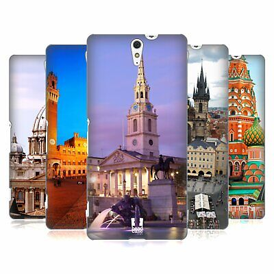 Head Case Designs Famous City Squares Hard Back Case For Sony Phones 2