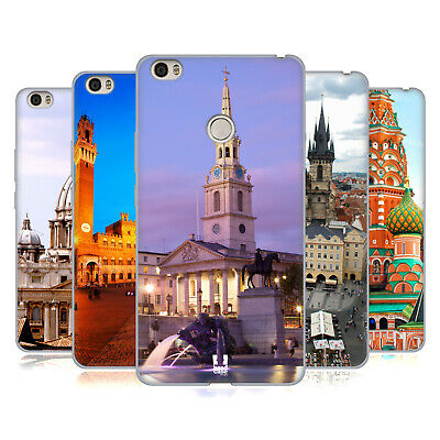 Head Case Designs Famous City Squares Soft Gel Case For Xiaomi Phones 2