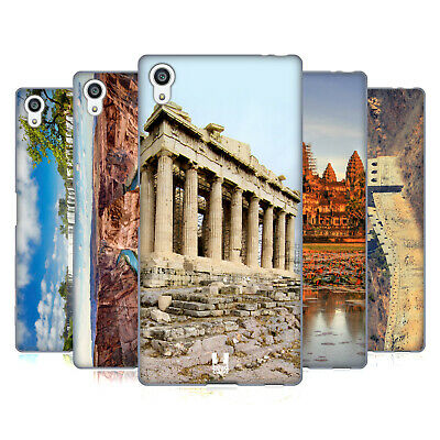 Head Case Designs Famous Landmarks Soft Gel Case For Sony Phones 2