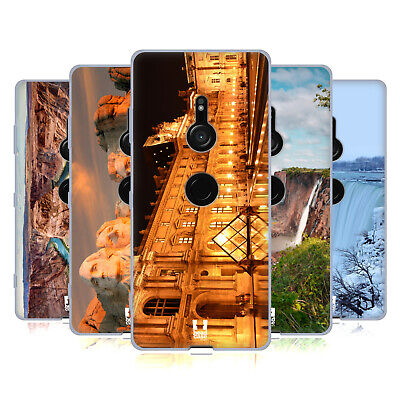 Head Case Designs Famous Landmarks Soft Gel Case For Sony Phones 1