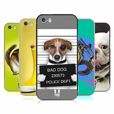 HEAD CASE DESIGNS FUNNY ANIMALS GOLD BUMPER SLIDER CASE FOR APPLE iPHONE PHONES