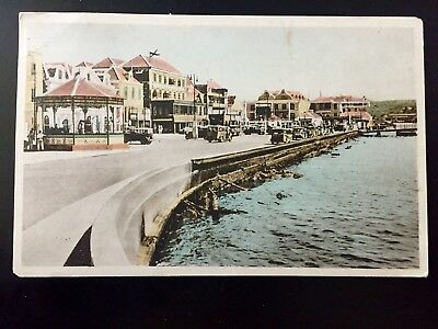 Netherlands West Indies Curacao Brion Plein postcard used c 1940