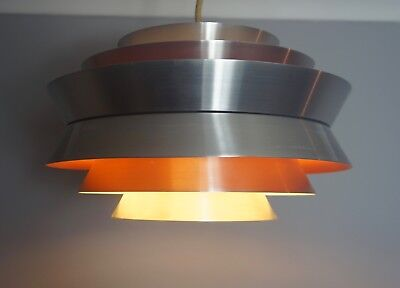 TRAVA PENDANT LIGHT SHADE CARL THORE GRANHAGA DANISH SWEDEN MODERN UFO 70s ERA