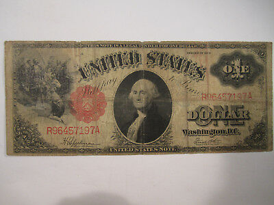 series 1917 one dollar united states note bill AS SHOWN *4261