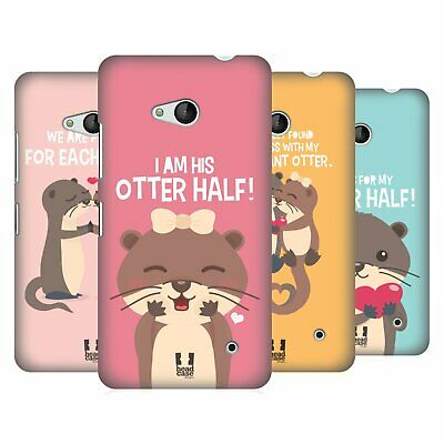 Head Case Designs My Significant Otter Hard Back Case For Microsoft Phones