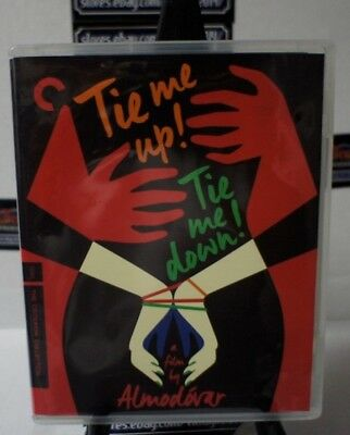 Tie Me Up Tie Me Down Criterion Collection Bluray DVD FREE SHIPPING!!!