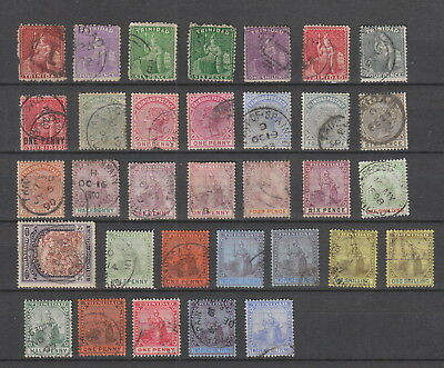 Trinidad collection , 33 stamps fine used