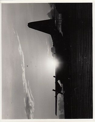 VINTAGE USAF C-130  Aircraft  PHOTO, 8 X 10 Original MINT! Dated 1968 on back.