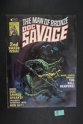 Vintage 1975 Marvel No. 2 The Man of Bronze Doc Savage Comic Book PS411