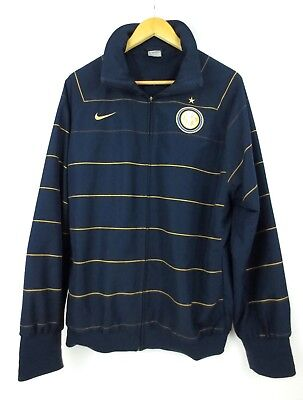 2f57c7e9c Inter Milan Internazionale Nike Vintage Football Training Jacket Soccer Size  XL