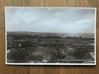 China Old Postcard Pei Tai Ho From The Western Hills !!