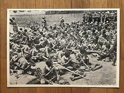 China Old Postcard China Japan War Chinese Women Soldiers Kuomintang !!