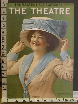 1910 Theater Actress Blanche Ring Singer Yankee  Litho Cover Art Print Tca228