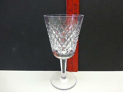 "WATERFORD Crystal Alana Pattern Claret / White Wine 5 7/8"" Tall"