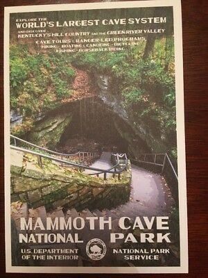 Mammoth Cave  National Park  Postcard New