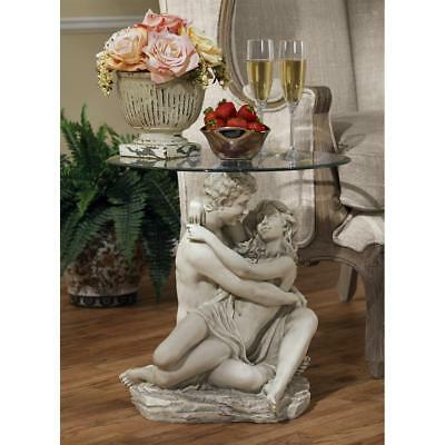 Design Toscano In the Arms of Romance Occasional Table