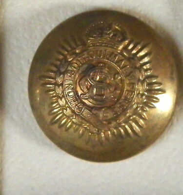 Bb BRITISH ARMY SERVICE CORPS UNIFORM BUTTON BBB 708-5