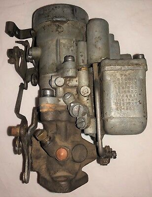 Original WWII US Army Willys MB Ford GPW Jeep 539S Carburetor 407 Base Correct
