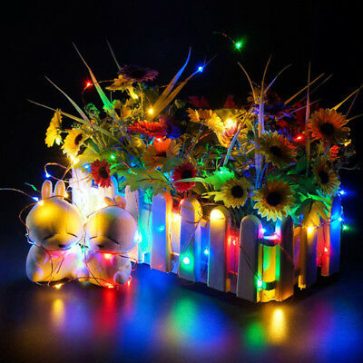 50cm/100cm USB LED String Lights Copper Wire Xmas Outdoor Fairy Light Decor D