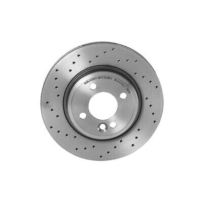 Brembo Xtra Front Brake Disc Rotor Drilled for Mini Cooper R50 R52 R53 2002-2007