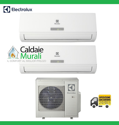 Conditionneur D'air Dual Electrolux Optibreeze X3 12000+12000 Btu